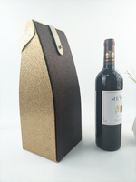 Luxury shiny wine box/wine box design/wine box packaging/Leather wine box hand in china supplier