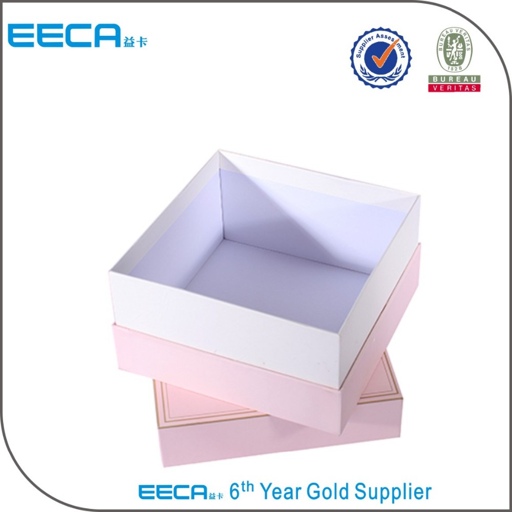 2017 Handmade Hot Stamping Custom Printed Cardboard Box/Perfume Paper Boxes/Skin care box Gift Packaging Box with Lid