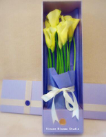 Luxury Customized Flower Packaging Paper Box/long flower box/extra long flower boxes in EECA